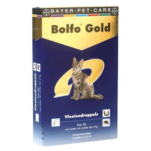 Bolfo Gold 40 Katze bis 4 kg 4 Pipetten