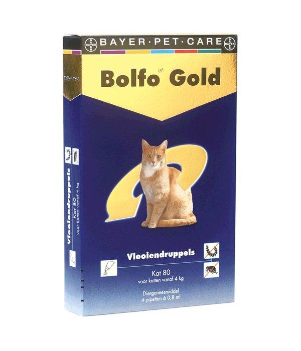 bolfo gold 80 katze 4 8 kg 4 pipetten. Black Bedroom Furniture Sets. Home Design Ideas
