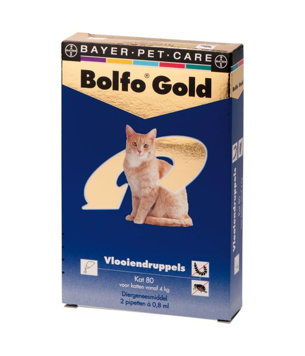 bolfo gold 80 katze 4 8 kg 2 pipetten. Black Bedroom Furniture Sets. Home Design Ideas
