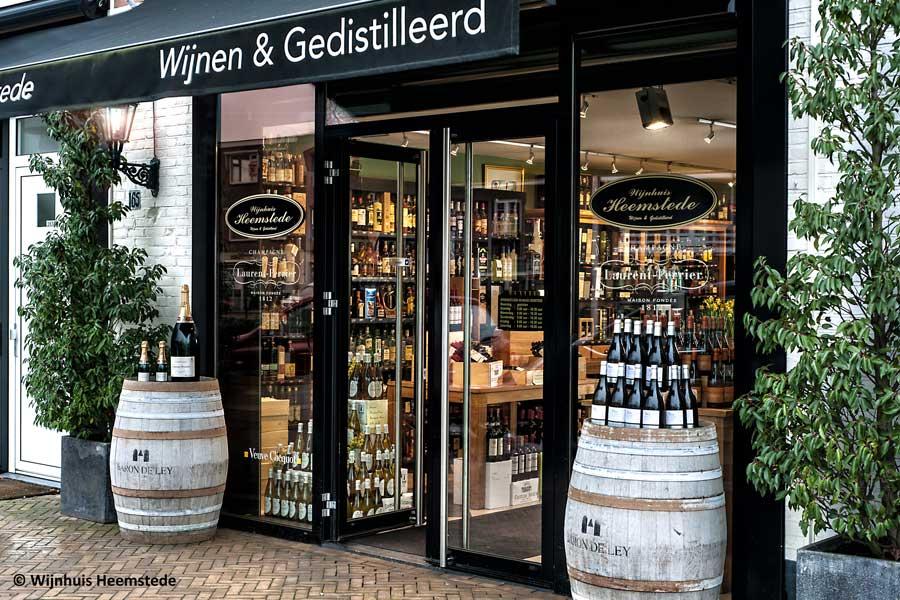 Wijnhuis Heemstede open op maandag