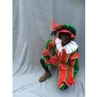 Zwarte Piet met mouwkapje en cape