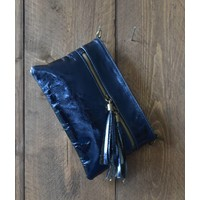 "Clutch ""Metallic"" blue"