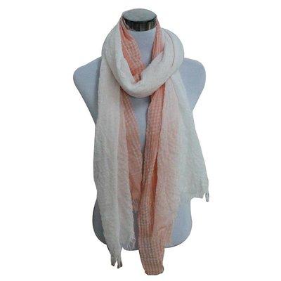 Schal | Karo | Pink