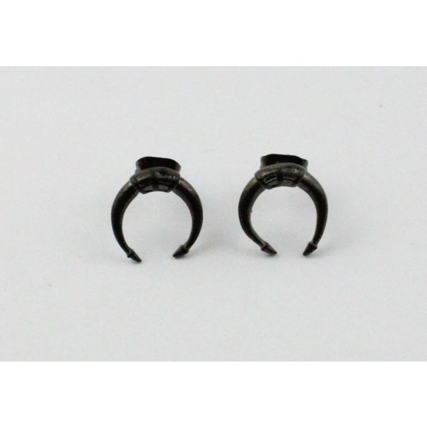 Earring | Symbol | Stainless Steel | Anthracite