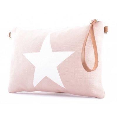 """Clutch """"Star"""" pink"""