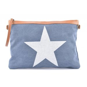 "Clutch ""Star"" blue"