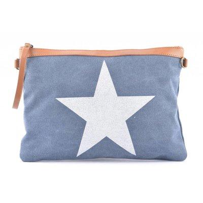Tasche   Star   Canvas   Blue
