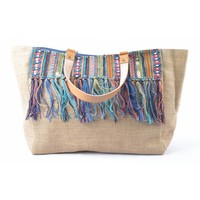 "Shopper ""Ibiza"" blue"