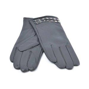 Handschuhe Leder doppelt Gürtel