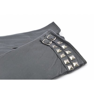 Glove leather double belt (895222)