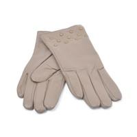 Handschuhe Leder studs