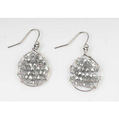 Oorbel mini zilver (335581)