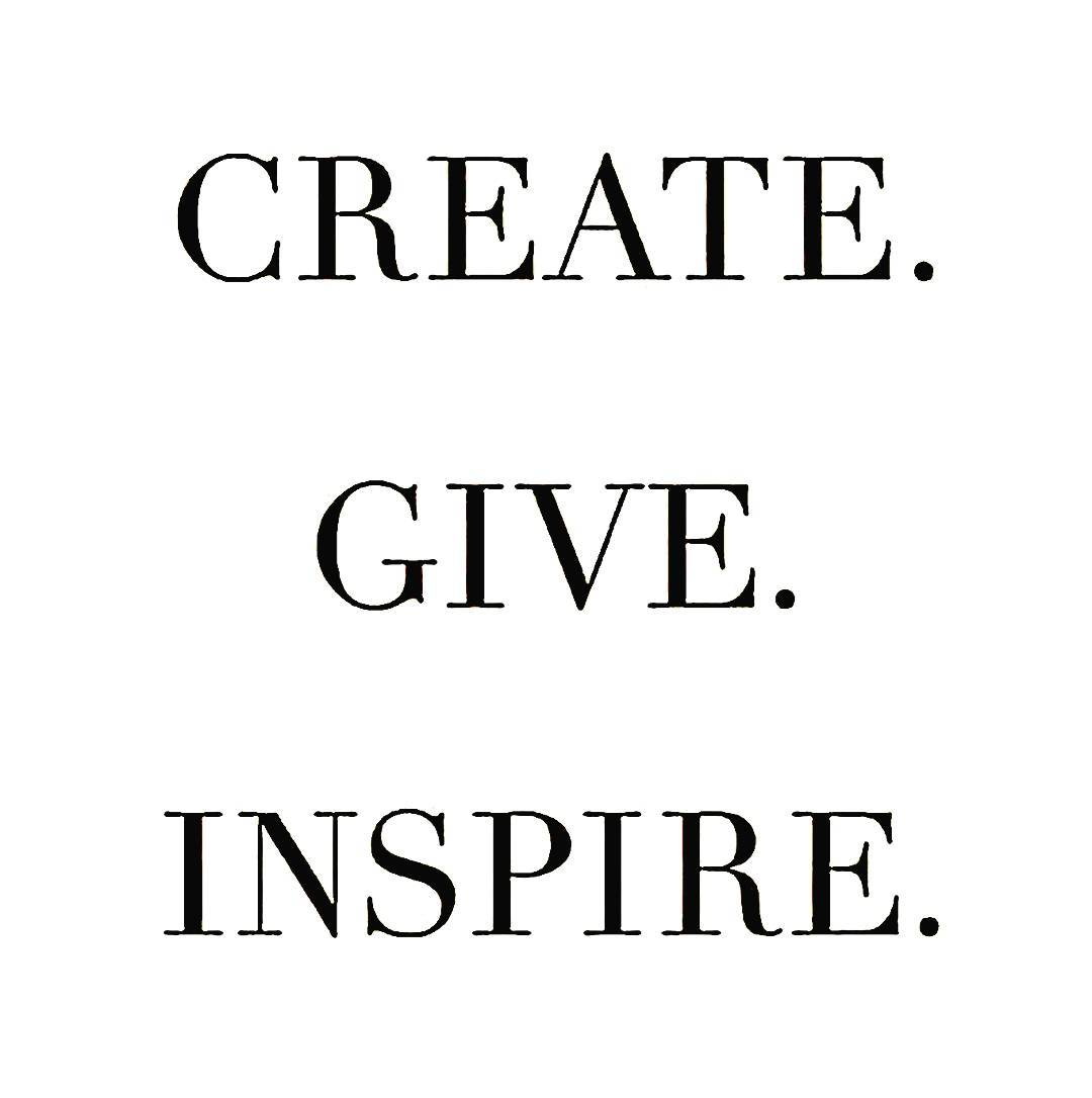 Create give and inspire with We Rove