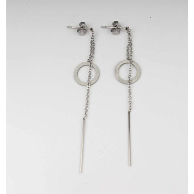 Earring stainless steel (358114)