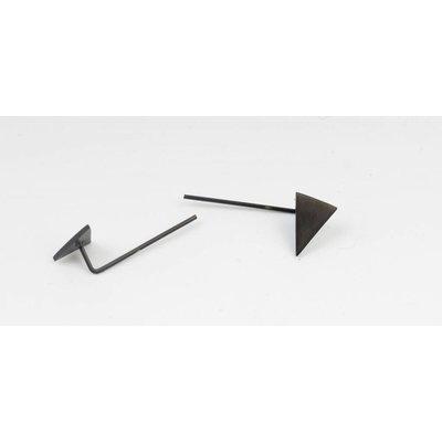 Oorbel driehoek RVS (358074)