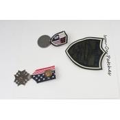 Fashion buttons, set von 3 (382642)