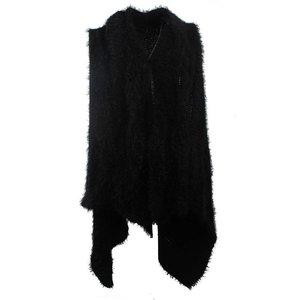 Vest soft zwart