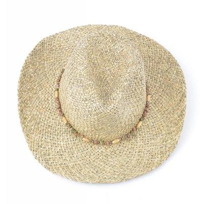 Cowboyhoed natuursteen band (895280)