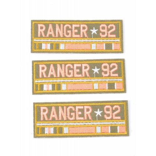 Patch ranger 92, per 3st.