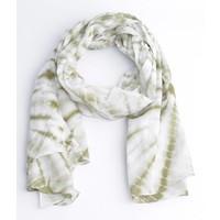 Rondtje print scarf, khaki