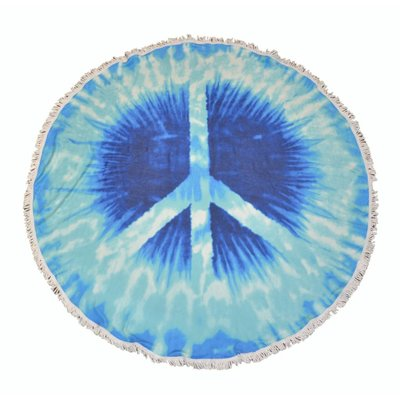"Roundie Strand Tuch ""Peace (885179)"