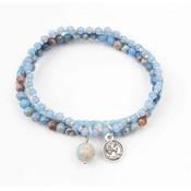 "3-gewinnt-Armband ""Jasper"" blau (327856)"