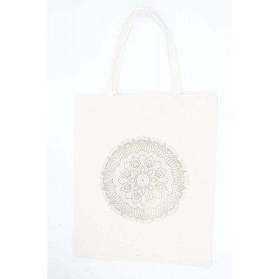 """Shopper Extra Large  """"Mandala"""" canvas (611348)"""