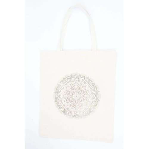 "Shopper XL  ""Mandala"" canvas"