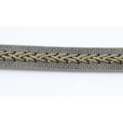 Choker with twisted stitching kakhi (318099)