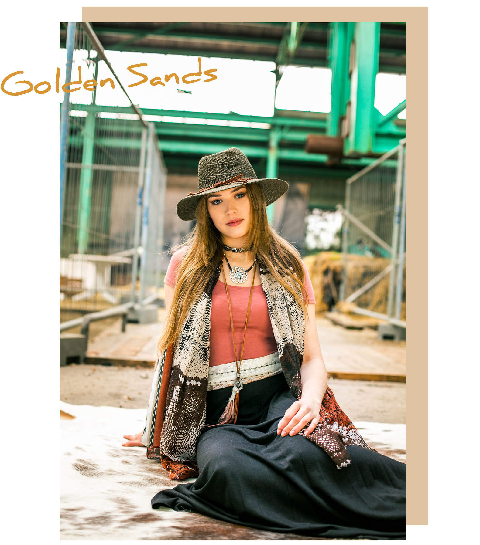 golden sands thema collectie