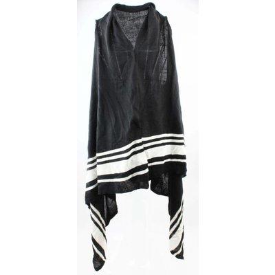 Jacke gestreift schwarz / weiß
