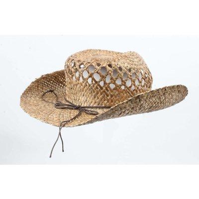 Cowboy hoed 'Grass' met kralenkoort