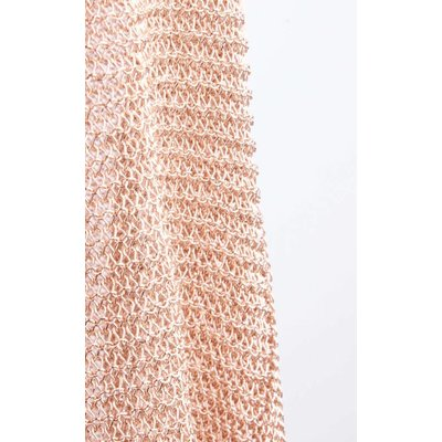 Jacket metallic pink