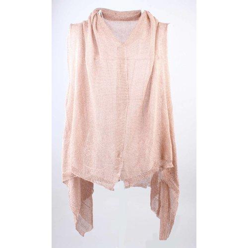 Jacke Metallic pink