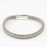 Bracelet ' metal balls ' sage