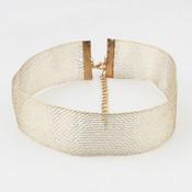 Halsband Metall gold