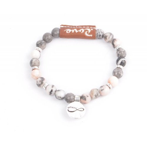 "Rove Bracelet Infinity ""Mila"" pink (S)"