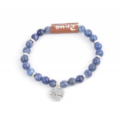 "Rove Armband Live in Love ""Mila"" Demin (S)"