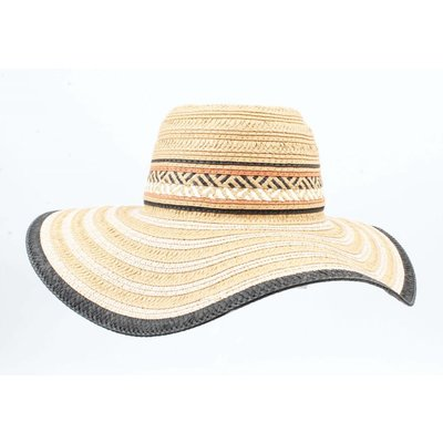 Flap Hat ' Riviera ' of straw, sand