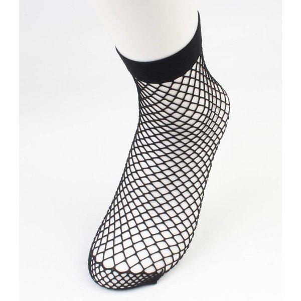Sokken 'Fishnet' medium per 2 paar