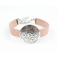 "Armband ""Happy Star"" pink"