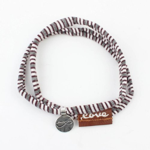 """Rove Bandy Jersey stretch """"Lucy"""", grey/bordeaux"""