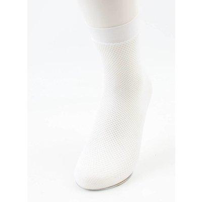 """""""Fischnetz"""" weiße pro 2 Paar Socken"""