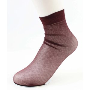 "Socken ""Metallic"" Bordeaux, doppelpack"