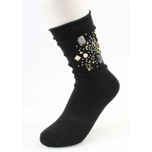 "Socks ""Fantasy Strass"" black"