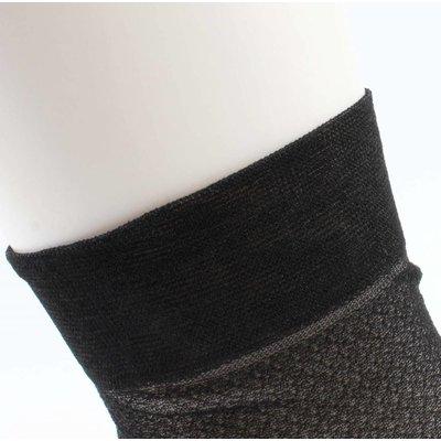 """Socken """"Metallic"""" schwarz, doppelpack"""