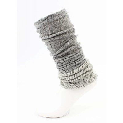 "Leg warmers ""Slob"" grey"