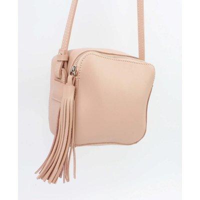 "Cross body bag ""Tassel"" pink"