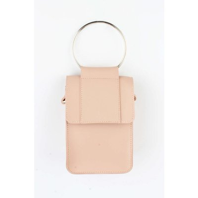 "Cross body bag ""Ring"" pink"
