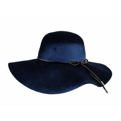 """Flap hat """"Bow"""" blue"""